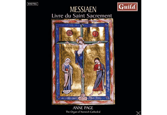 Anne Page - Messiaen Livre Du St.Sacrement - (CD)