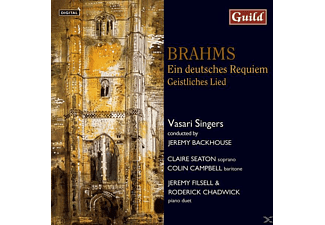 SEATON/CAMPBELL/VASARISINGERS, SEATON/CAMPBELL/VASARI SINGERS - Brahms:Deutsches Requiem - (CD)