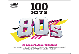 VARIOUS - 100 Hits-80's - (CD)