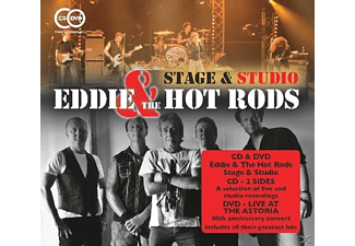 Eddie & The Hot Rods - Stage & Studio [CD + DVD Video]
