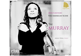 Tai Murray, Ashley Wass - 20th Century: The American Scene - (CD)