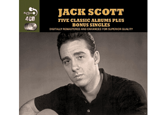 Jack Scott - 5 Classic Albums Plus [CD]