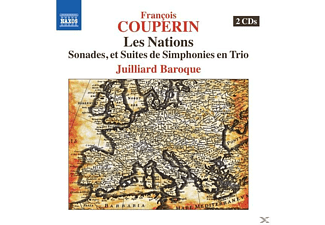 Juilliard Baroque - Les Nations [CD]