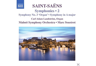 Malmo Symphony Orchestra - Soustrot - Sinfonie 3/Sinfonie A-Dur [CD]