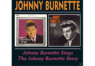 Johnny Burnette - Johnny Burnette Sings/The Johnny Burnette Story [CD]
