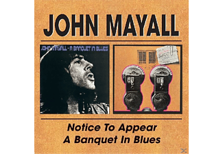 John Mayall - Notice To Appear/Banquet In Bl - (CD)