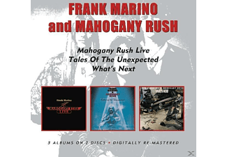 Frank Marino - Live/Tales Of The Unexpected/What's Next - (CD)
