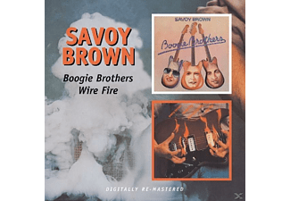 Savoy Brown - Boogie Brothers/Wire Fire [CD]