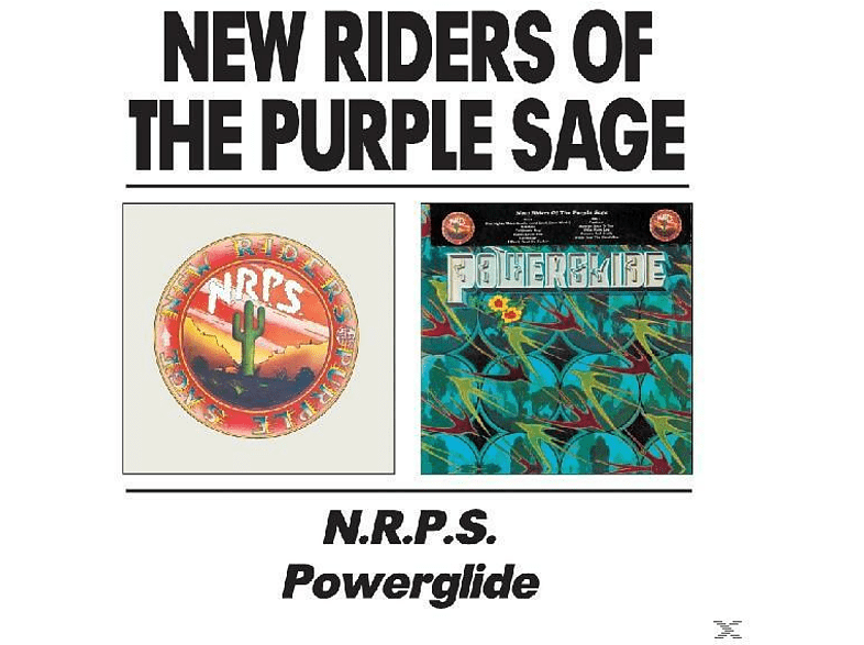 New Riders Of The Purple - N.R.P.S.& Powerglide [CD]