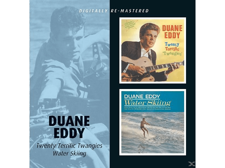 Duane Eddy - 20 Terrific Twangies/Waterskiing [CD]