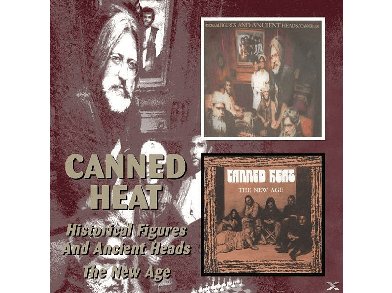 Canned Heat - Historical Figures And Ancient Heads/The [CD]