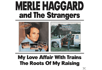 Merle Haggard - My Love Affair With Trains & The Roots Of My Raising - (CD)