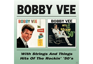 Bobby Vee - With Strings & Things/Hits Of The Rockin' '50's [CD]