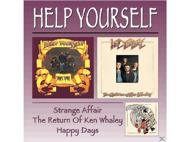Help Yourself - Strange Affair/Return Of Ken W [CD]
