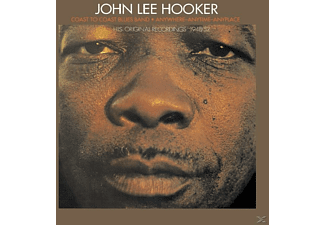 John Lee Hooker - Coast To Xoast/Anywhere Anytim - (CD)