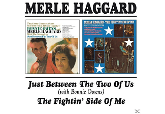 Merle Haggard - Just Between The Two Of Us/The Fightin' Side Of Me - (CD)