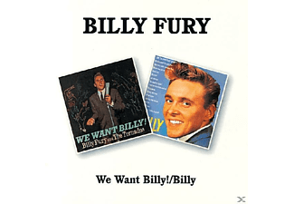 Billy Fury - We Want Billy/Billy - (CD)