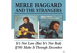 Merle & The Strangers Haggard - It's Not Love/If We Make It Through December - (CD)