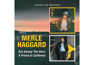 Merle Haggard - Out Among The Stars/ A Friend In California [CD]