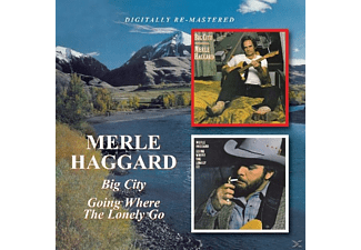 Merle Haggard - Big City/Going Where The Lonely Go - (CD)
