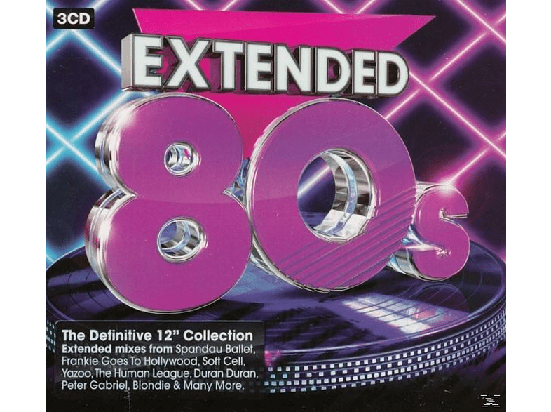 VARIOUS - Extended 80s [CD]