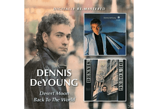 Dennis Deyoung - Desert Moon/Back To The World - (CD)