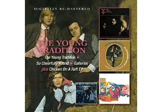 The Young Tradition - Young Tradtion/So Cheerfully Round/Galleries+Chi [CD]