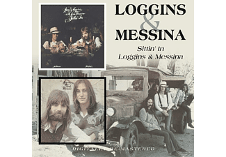 Loggins - Sittin  In/Loggins & Mess - (CD)