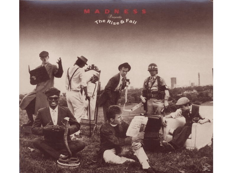 Madness - The Rise & Fall [CD]