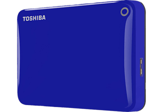 TOSHIBA Canvio Connect II 1ΤΒ USB 3.0 Blue - (HDTC810EL3AA)