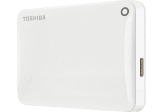 TOSHIBA Canvio Connect II 1ΤΒ USB 3.0 White - (HDTC810EW3AA)