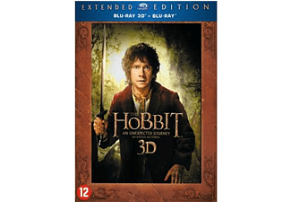 The Hobbit: P1 - An unexpected journey: Extended Edition 3D + 2D Blu-ray