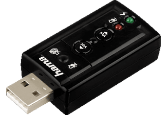 HAMA 7.1 Surround Carte son USB (51620)