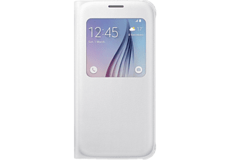 SAMSUNG S-view Cover Galaxy S6 PU Leather White - (EF-CG920PWEGWW)