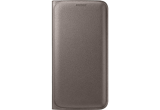 SAMSUNG Flip Wallet Galaxy S6 Edge PU Leather Gold - (EF-WG925PFEGWW)