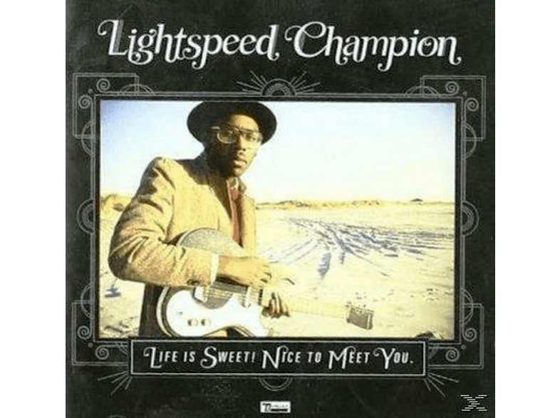 Lightspeed Champion - Life Is Sweet! Nice To Meet You [CD]