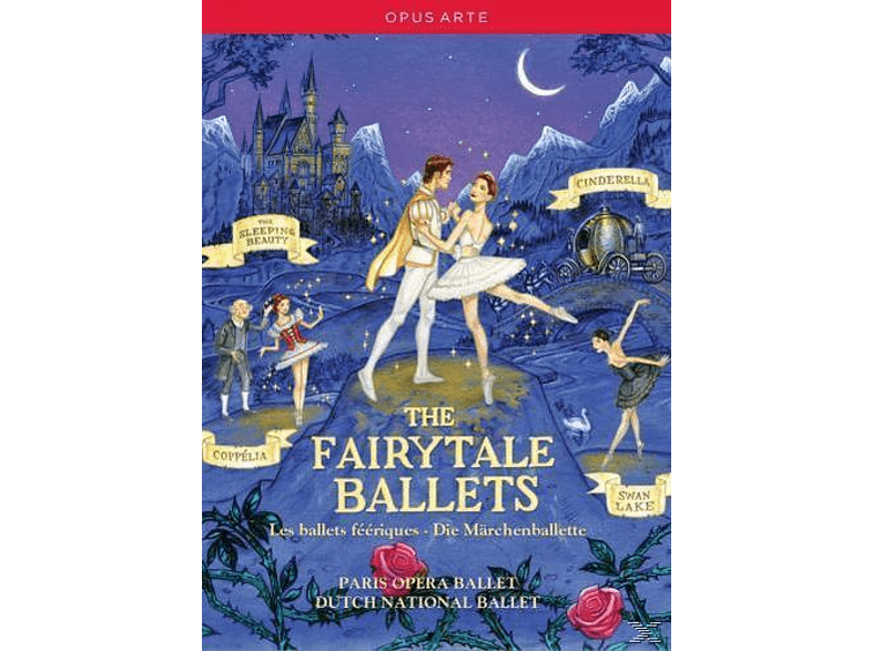 VARIOUS, Various Orchestras - The Fairytale Ballets [DVD]