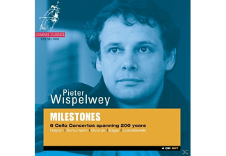 Pieter Wispelwey, VARIOUS - Milestones: 6 Cello Concertos Spanning 200 Years - (CD)