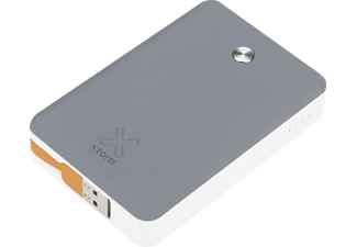 XTORM XB101 Power Bank Trip, 9000 mAh Powerbank Anthrazit, weiss, gelb