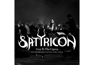Satyricon - Live At The Opera (Ltd.Edt.) - (CD + DVD)