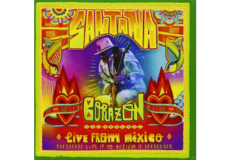 Carlos Santana - Corazón-Live From Mexico: Live It To Believe It - (DVD + CD)