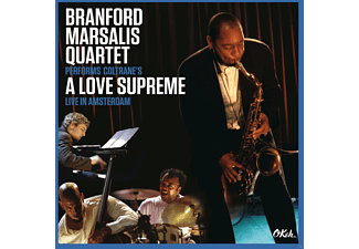 Branford Quartet Marsalis - Coltrane's A Love Supreme Live In Amsterdam - (DVD + CD)