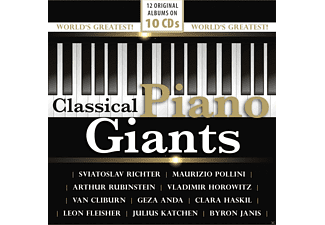 VARIOUS - Piano Giants-Original Albums - (CD)