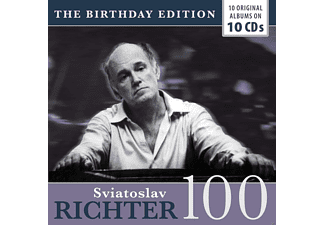 Richter Svjatoslav - 10 Original Albums (Birthday Edition) CD
