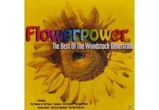 VARIOUS - Flowerpower - The Best Of The Woodstock Generation - (CD)