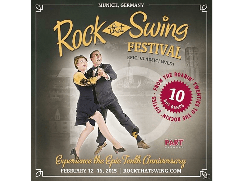 VARIOUS - Rock That Swing-Festival Compilation Vol.2 [CD]