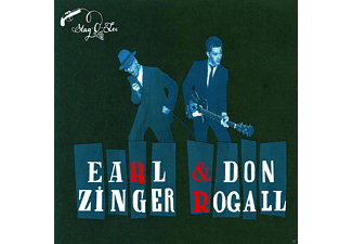 Don Rogall, Earl Zinger - In The Backroom - (CD)
