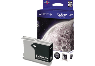 BROTHER Original Tintenpatrone Schwarz (LC-1000BK)