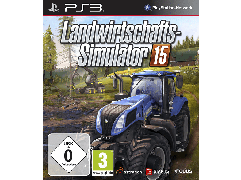 Landwirtschafts-Simulator 2015 (Software Pyramide) [PlayStation 3]