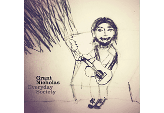 Grant Nicholas - EVERYDAY SOCIETY (WHITE VINYL) - (Vinyl)
